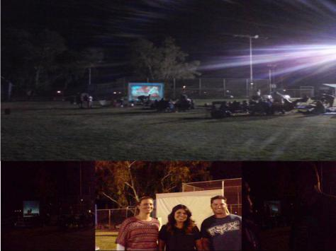 Only on ZachNews- Needles, CA- The first outdoor movie night event in the park bring the community together- Picture- Saturday, December 1st, 2012