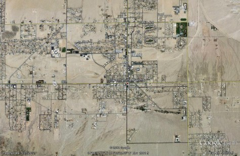 Twentynine Palms, California- Map- Friday, December 7th, 2012