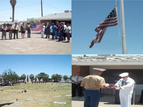 Needles, CA- Community comes together for a Memorial Day ceremony at the Needles Riverview Cemetery- Pictures- Monday, May 27th, 2013