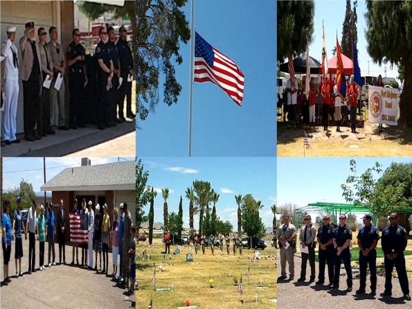 Needles, CA- Memorial Day Service- 2015- Pictures.