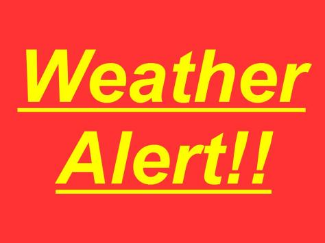 ZachNews -- Weather Alert!!