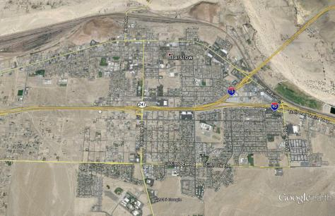 Barstow, California Map
