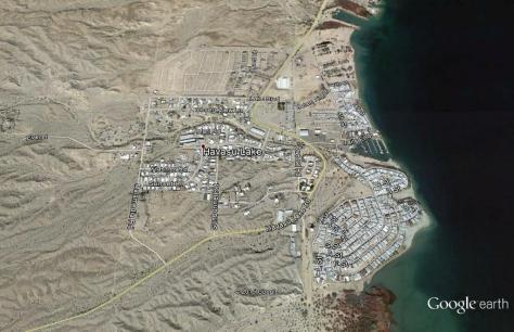 Havasu Lake, California Map